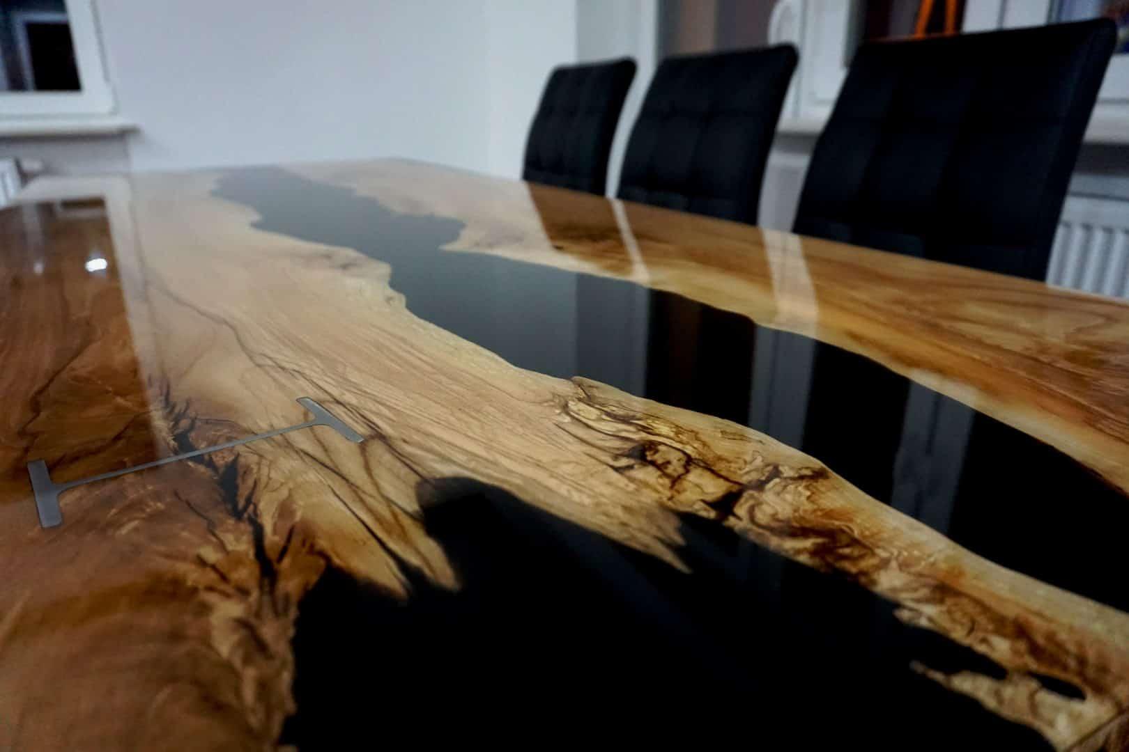Art Steel Wood Ręcznie Wykonane Meble Z Litego Drewna